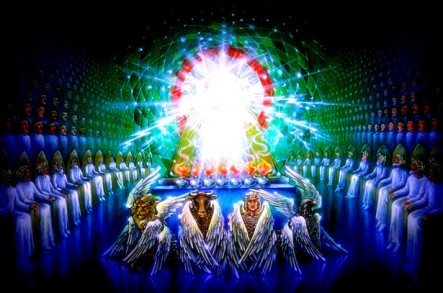 Revelation 4-8 Whenever the living creatures give glory and honor and thanks to him – The Scripture Says